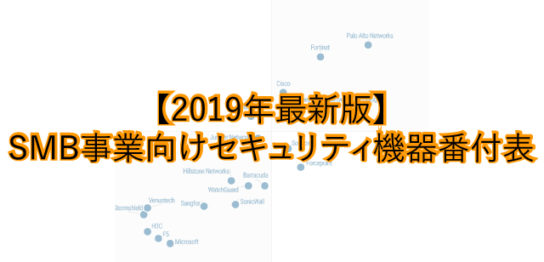 2019年度最新版、ネットワーク機器比較